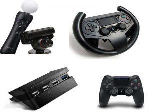 Аксессуары для PS4