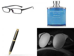 Прочие мужские аксессуары: очки, солнцезащитные очки, письменная ручка, парфюм