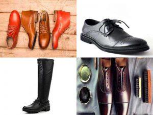 Аксессуары для обуви из натуральной и искусственной кожи