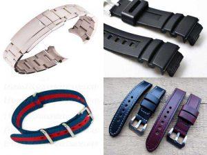 Ремни для наручных часов: кожаные, металлические, пластиковые, деревянные