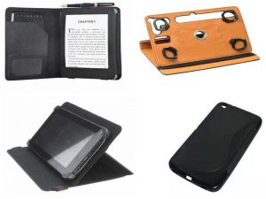 Аксессуары для электронных книг: чехол-книжка, бамперы, чехлы с подставкой