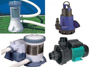 Насосы для бассейнов: циркуляционные, вихревые, погружные, фильтрующие