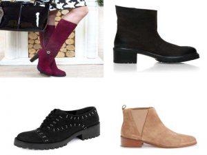 Аксессуары для обуви из велюра, замши, нубука