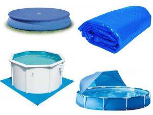 Аксессуары для бассейна: тенты, подстилки, солнечные покрывала