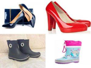 Аксессуары для лакированной и резиновой обуви
