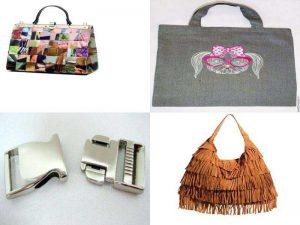 Аксессуары для сумок: принт, вышивка, металлическая фурнитура, бахрома
