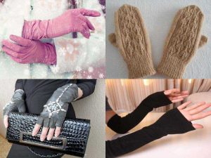 Аксессуары для зимы: перчатки, гловелетты, варежки