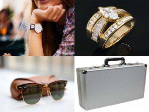 Аксессуары для одежды: часы, кейс, украшения, очки