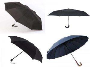 Зонт – мужской аксессуар