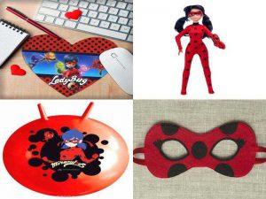Аксессуары Леди Баг: коврик для мыши, маска, мяч, кукла
