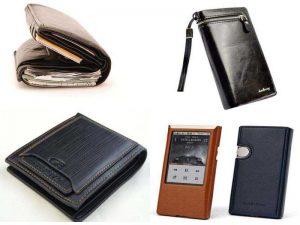 Аксессуары для мужчин: бумажник, портмоне, чехол для гаджетов