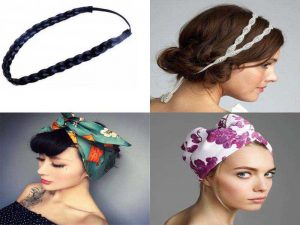 Резинки для греческой причёски и тюрбан для волос