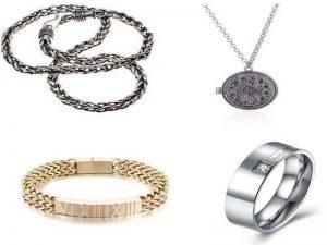 Ювелирные украшения для мужчин: цепочка, кольцо, кулон, браслет