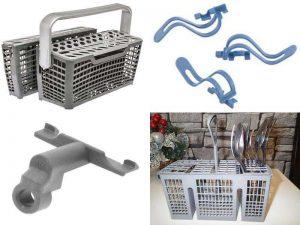 Аксессуары для посудомоечных машин: корзины и держатели