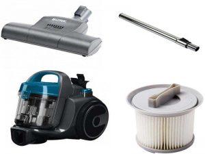 Аксессуары для пылесосов: фильтры, насадки, телескопические трубки, резервуар для жидкости
