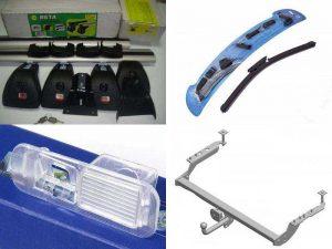 Аксессуары Субару: багажник, фаркоп, щётки стеклоочистителей, крепления для камеры заднего вида