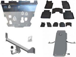 Аксессуары для Volvo S90: защита двигателя и редуктора, фаркоп, набор ковриков