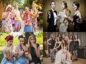 Стиль для девичника: гавайский, Коко Шанель, арт-деко, пин-ап