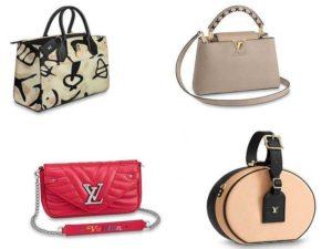 Аксессуары Louis Vuitton: кожаные сумки City Steamer, Petite Boite Chapeau, Capucines, New Wave