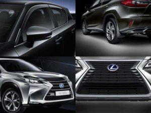 Аксессуары Lexus: дефлекторы окон, защитная сетка на решётку радиатора, дефлектор капота, брызговики