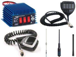 Аксессуары для раций: антенны, усилители сигнала, тангенты