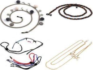 Аксессуары для очков: цепочки и шнуры