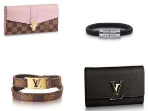 Аксессуары Louis Vuitton: кошельки и браслеты