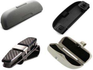 Аксессуары для очков: автомобильные держатели