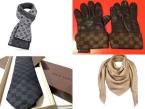 Аксессуары Louis Vuitton: шарфы, палантины, галстуки, перчатки