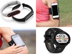 Аксессуары для бега: фитнес-браслеты, фитнес-часы, фитнес-трекеры