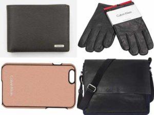 Мужские аксессуары Calvin Klein: сумки, кошельки, чехлы, перчатки
