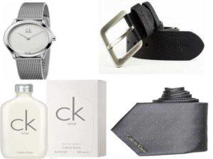 Мужские аксессуары Calvin Klein: часы, галстуки, ремни, парфюмерия