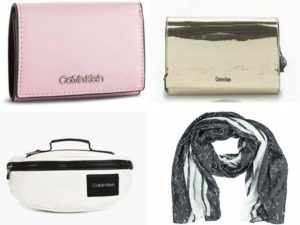 Женские аксессуары Calvin Klein: кошельки, сумочки, клатчи, шарфы