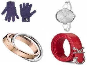 Женские аксессуары Calvin Klein: перчатки, ремни, ювелирные украшения, наручные часы